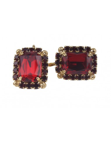 Siam Rectangular Earrings by Monnaluna Florence Italy