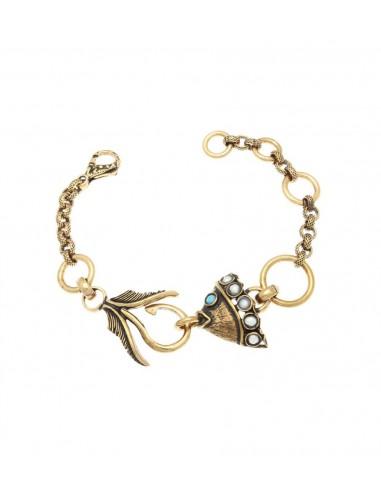 Fish Bracelet Hanging On The Hook