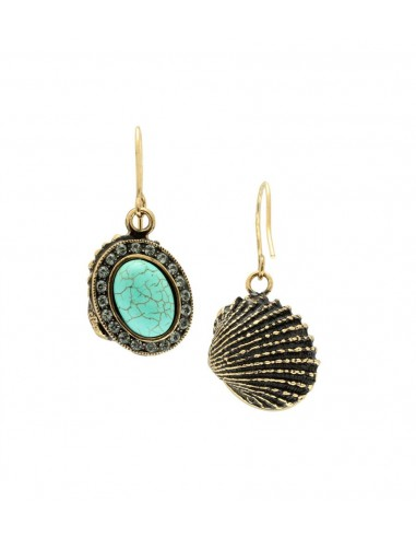 Shell Earrings by Alcozer & J Florence