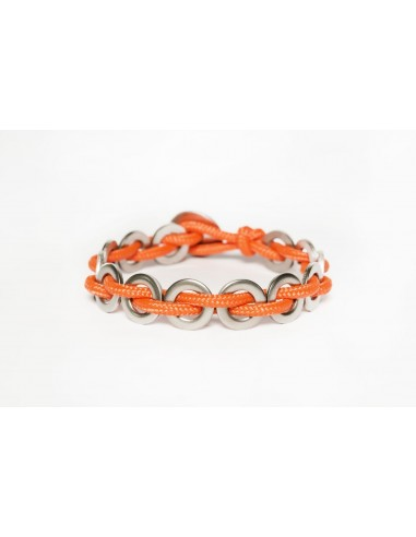 Flatmoon Bracelet - Orange Stainless made by Svitati by Sara Rizzardi