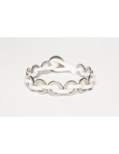Flatmoon Bracelet - White Stainless made by Svitati by Sara Rizzardi