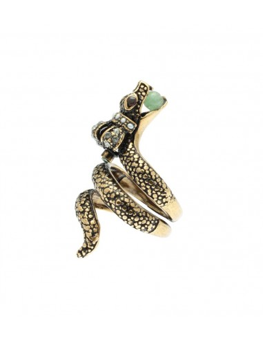 Crowned Serpent Ring