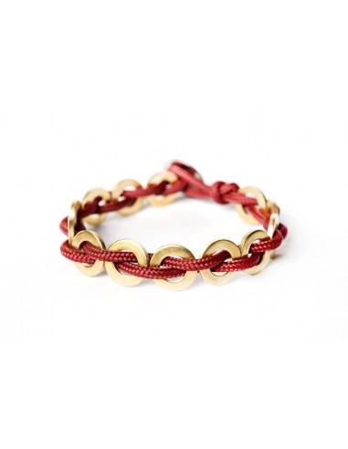 Flatmoon Bracelet - Dark Red