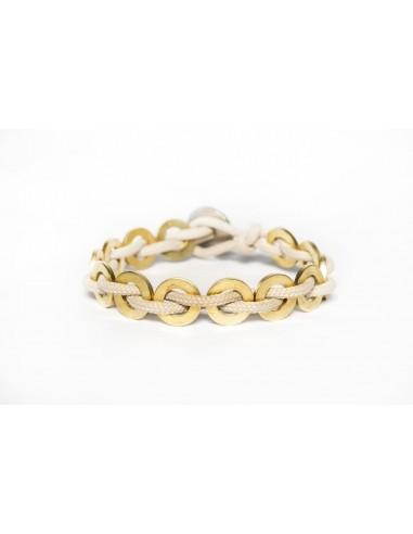 Flatmoon bracelet Sand - Brass made by Svitati by Sara Rizzardi