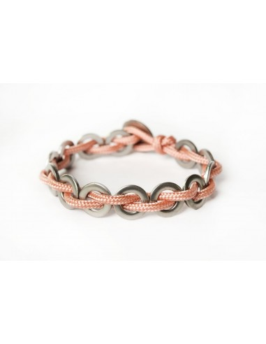Flatmoon Bracelet - Salmon Stainless made by Svitati by Sara Rizzardi