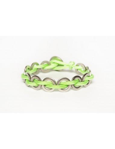 Flatmoon Bracelet - Fluorescent Green