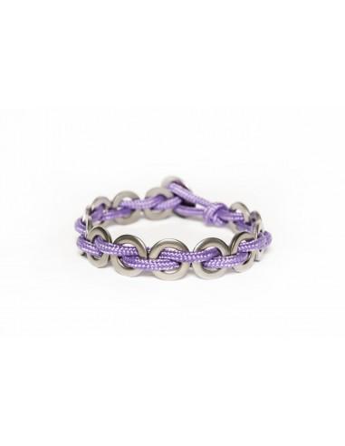 Flatmoon bracelet Lilac - Brass made by Svitati by Sara Rizzardi