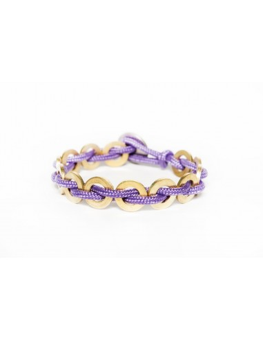 Flatmoon Bracelet - Lilac Stainless made by Svitati by Sara Rizzardi
