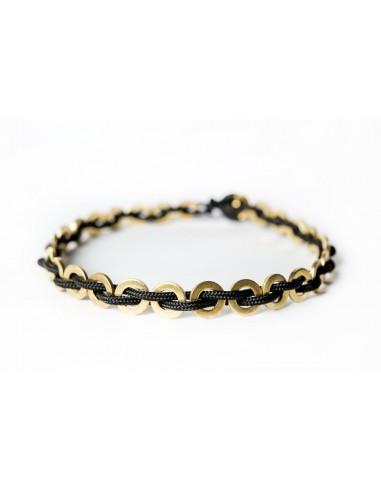 Flatmoon Necklace - Black