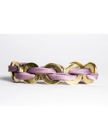 MAXI Silk Bracelet - Lilac