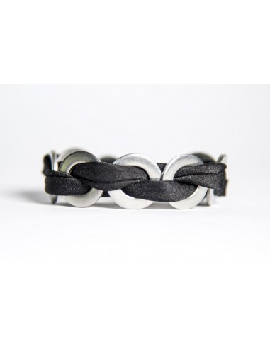 MAXI Silk Bracelet - Black