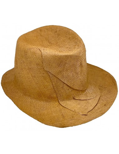Inda Hat - Yellow by Reinhard Plank Florence Italy