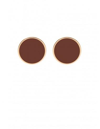 Tappabuco Earrings - Chocolate