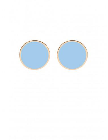 Tappabuco Earrings - Light Blue