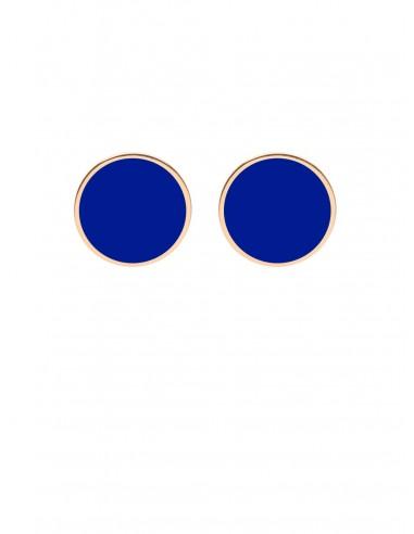 Orecchini Tappabuco blu elettrico di Francesca Bianchi  Design Arezzo 1