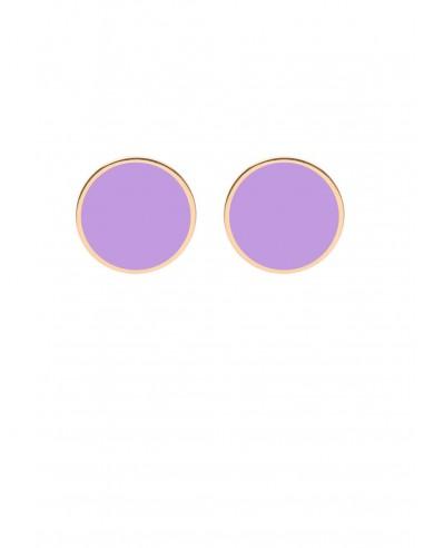 Tappabuco Earrings - Lilac