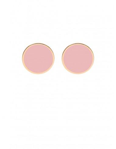 Orecchini Tappabuco rosa di Francesca Bianchi Design