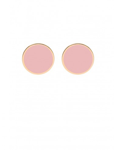 Tappabuco Earrings - Pink by Francesca Bianchi Design Arezzo Italy 1