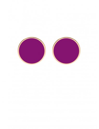 Tappabuco Earrings - Violet