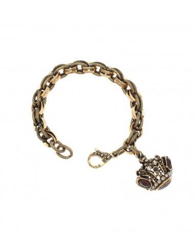 Garnet Seal Bracelet by Alcozer & J Florence