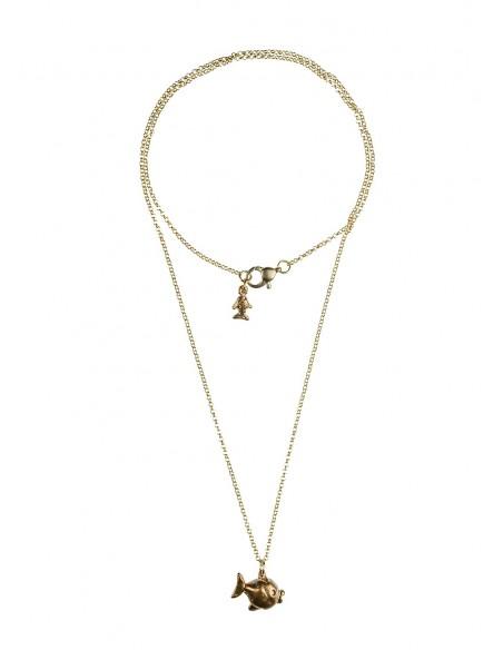 Double Crown Necklace pendant