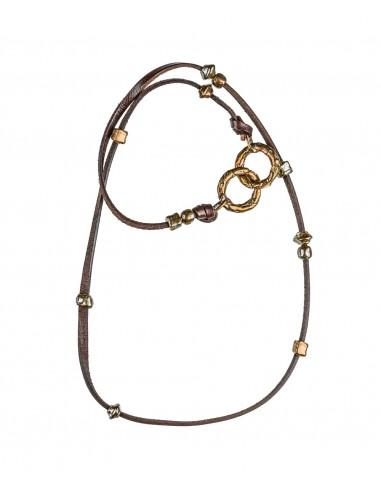 Handcuffs Necklace by Creazioni Solaria Florence Italy 1