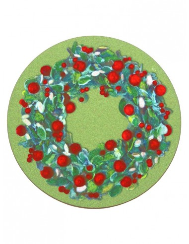 Masonite Under Plate Small Garland by Cecilia Bussani Florence