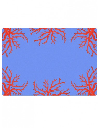 2 Masonite Trivets Corals - Red by Cecilia Bussani Florence