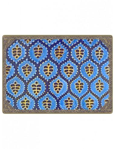 2 Sottopentola Masonite Etnica - Blu di Cecilia Bussani Firenze