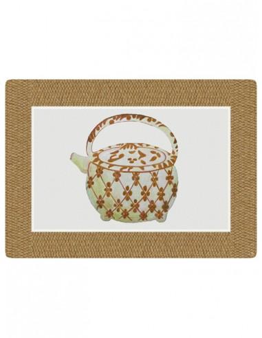 Masonite Large Teapot 1 American Placemat