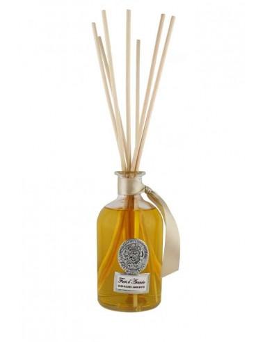 Fragranza Fiori d'Arancio 250 ml con bastoncini di Antica Spezieria Erboristeria San Simone Firenze 1