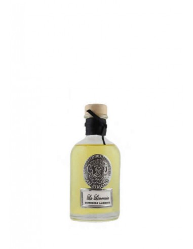 Room Fragrance The Lemon-House Florence 100 ml with sticks by Antica Erboristeria San Simone Florence Italy 1