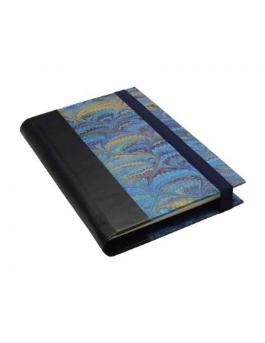 Blue Marbled Notebook
