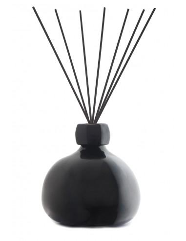 Fragranza d'Ambiente Trendy Nero con Bastoncini in fibra di Maya Design Italia 1