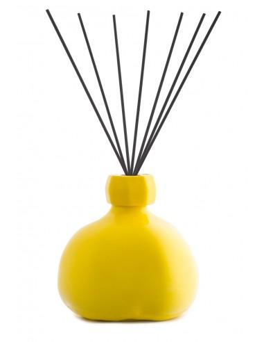 Fragranza d'Ambiente Trendy Giallo Limone Bastoncini in fibra di Maya Design 1