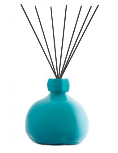 Fragranza d'Ambiente Trendy Turchese con Bastoncini in fibra di Maya Design Italia 1