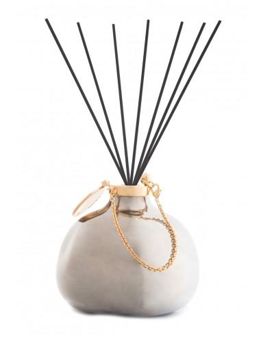 Fragranza d'Ambiente Luxury Platino con Bastoncini in fibra di Maya Design Italia 1