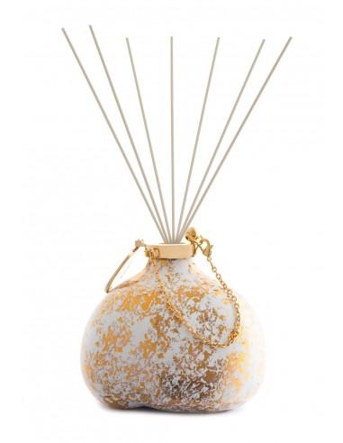 Fragranza d'Ambiente Luxury - Spot Gold con Bastoncini in fibra di Maya Design Italia 1