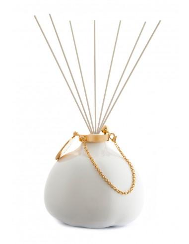 Fragranze d'Ambiente Fashion - Bianco con Bastoncini in fibra di Maya Design Italia 1