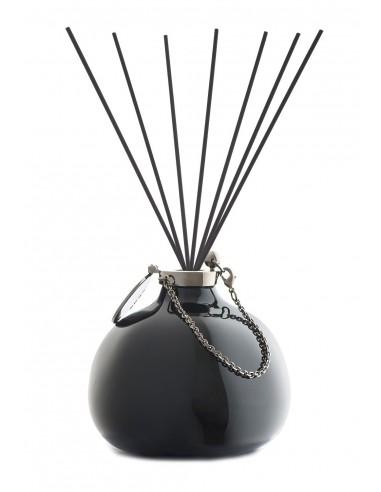Fragranza d'Ambiente Fashion - Nero con Bastoncini in fibra di Maya Design Italia 1