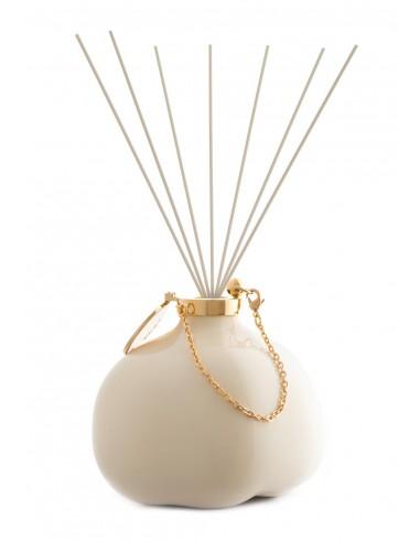 Fashion Room Fragrance - Creamy White with fiber sticks by Maya Design Italy 1