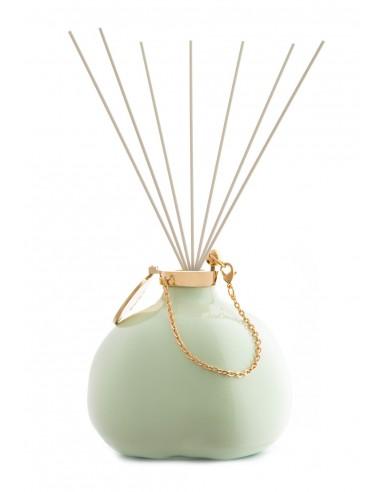 Fragranze d'Ambiente Fashion - Verde Mela con Bastoncini in fibra di Maya Design Italia 1