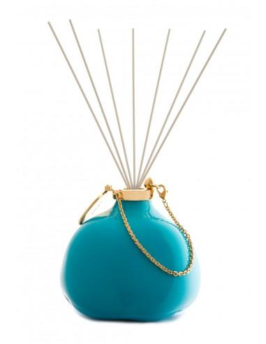Fragranza d'Ambiente Fashion - Turchese con Bastoncini in fibra di Maya Design Italia 1