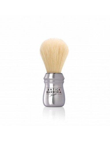 Shaving Brush with Chrome-Plated Plastic Handle