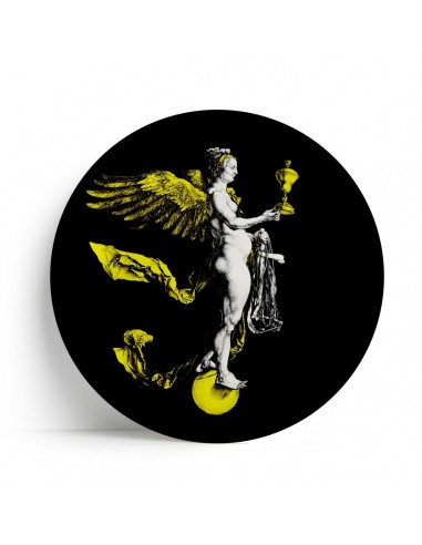 """Plate Big One Collection """"Nemesis"""" by Tondo Fiorentino"""