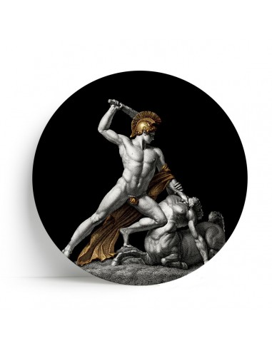 "Plate Big One Collection ""Theseus and Centaur"" by Tondo Fiorentino"