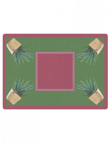 2 Masonite Trivets Cactus - Antique Pink by Cecilia Bussani Florence