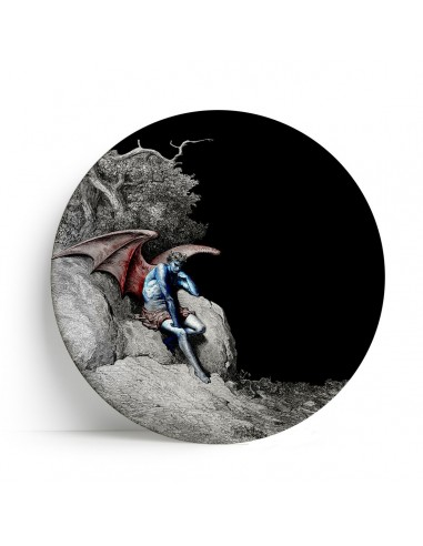 """Plate Big One Collection """"Lucifer"""" by Tondo Fiorentino"""