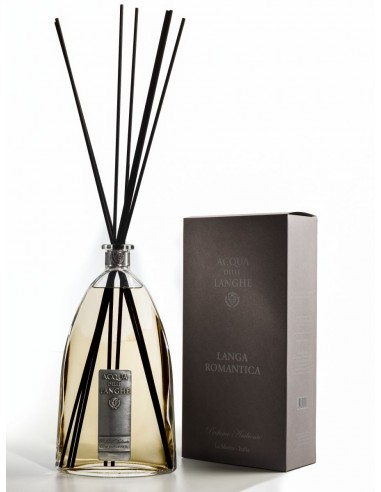 Room Fragrance Langa Romantica - 500 ml with sticks by Acqua delle Langhe Italy