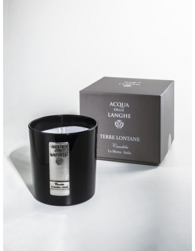 Candle Terre Lontane by Acqua delle langhe Italy